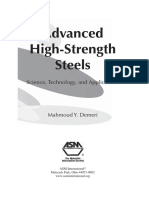 High-strength Low-Alloy (Hsla) Steels