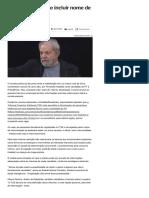014-08 _Pesquisas terão de incluir nome de Lula - Notícias - UOL Eleições 2018