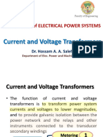 Current and Voltage Transformers_Hossam