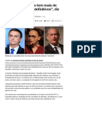 """014-08 _Nenhum candidato tem mais de 35% de eleitores """"definitivos"""", diz CNI:Ibope - Notícias - UOL Eleições 2018"""