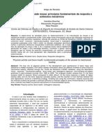 Atividade Física e Saúde Ósseo - Princípios Fundamentais Da Respostas a Estímulos Mecânicos