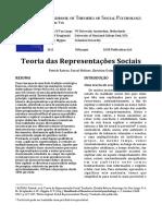 Teoria das Representações Sociais