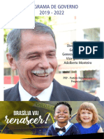 Programa de governo Paulo Chagas (PRP)