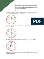 Angulos y Reloj