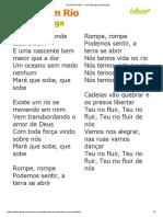 EXISTE UM RIO - Ana Nóbrega (Impressão)