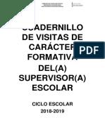 Cuadernillo Visita Formativa 2017