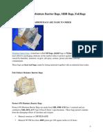 Barrier Bags-Moisture Barrier Bags, MBB Bags, Foil Bags.docx