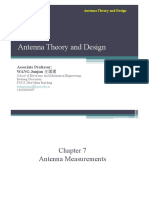 Lecture 7.Antenna Measurement