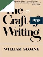 Sloane, William - The Craft of Writing (1979).pdf