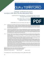 """Politique des """"eaux publiques"""" et affirmation du pouvoir municipal au XVIIIe siècle à Vila Rica (Minas Gerais, Brésil)"""