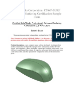 Sample CSWP-SURF Advanced Surfacing Certification Exam