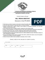 Vunesp 2015 Pm Sp Cabo Da Policia Militar Prova