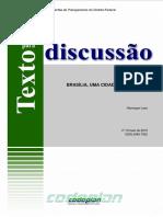 Brasília cidade centenária
