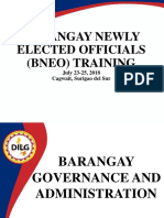 Brgy Governance and Administration