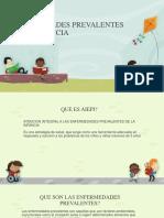 Enfermedades Prevalentes en La Infancia