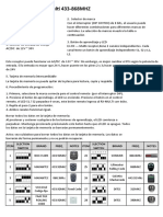 Manual RX Multi Español