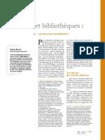 Relieurs Et Bibliotheques
