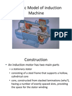 -Dynamic Model of Induction Machine
