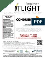 Employer Spotlights September 2018
