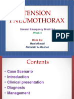Tension Pneumothorax 170102133730