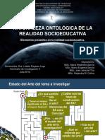 Exposición Tema 2. Nat.ontológica de La Realidad Final