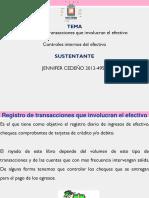 EXPOSICION Registro de Transacciones