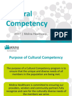 cultural-competency-training molina health care 2017