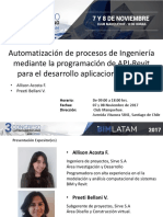 Automatizacion Procesos Ingenieria Mediante Programacion de API Revit Allison Acosta Preeti Bellani Sirve1