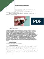 Clasificacion de los materiales dentales Miuriel.doc