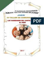 Los Variedades del castellano del Perú.docx