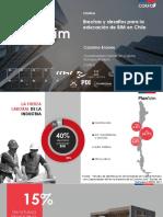 Brechas y Desafos Para La Educacin de Bim en Chile Carolina Briones 11 Enero 2018