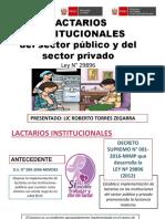 LACTARIOS INSTITUCIONALES