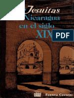 Los jesuitas en Nicaragua. Franco Cerutti