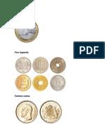 Tipos de Monedas