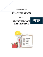 planification maintenance