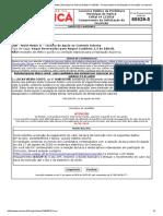 Concurso Público Da Prefeitura Municipal de Maricá (Edital Nº 1_2018) - Comprovante de Solicitação de Inscrição via Internet