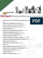 Botiquin Mascotas Flores de Bach Center