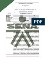 Programa Entrenamiento Deportivo SENA