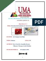 Informe Nº 2 Analisis Clinico II