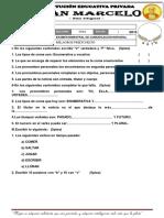 19 Hojas de Examenes Bimestrales de Milagros Prieto Reto