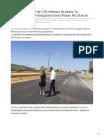 02-08-2018-Con una inversión de 380 millones de pesos la gobernadora CPA inaugura el tramo Paseo Río Sonora- El imparcial