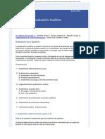 metodos deevaluacion auditiva