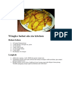 Wingko Babat Ala Zia Kitchen
