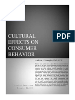 Cultural Effects on Consumer Behavior Paper 122610