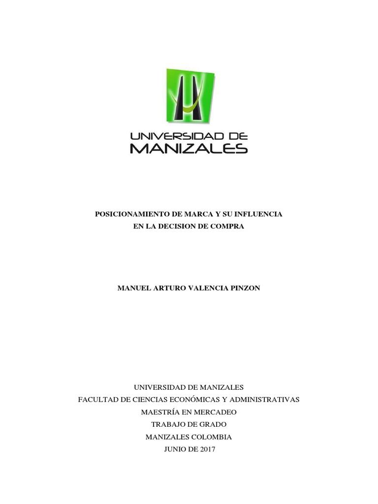 buy online 5ea89 d8577 Tesis Posicionamiento de marca 2017