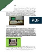 Primera Generación Computadoras