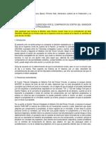 Voto particular del Ministro José Ramón Cossio sobre la acción de Usucapión