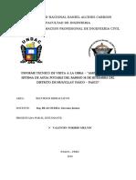 Informe Tecnico de Visita - Huallay