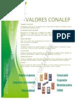 4.- VALORES CONALEP