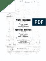 Estudios Liszt